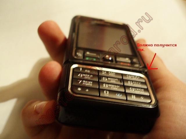 Как разобрать Nokia 3250